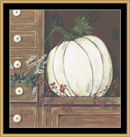 Whit Pumpkin - Cross Stitch Download | Crafting | Cross-Stitch | Other
