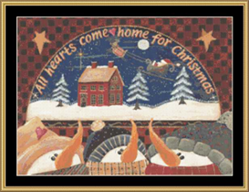 All Hearts Come Home - Cross Stitch Download | Crafting | Cross-Stitch | Other