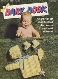 star baby book no. 96 - crochet pattern ebook