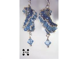 Dutch Spiral Earrings with Fine Austrian Crystals | eBooks | Arts and Crafts
