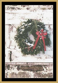 Holiday Wreath - Cross Stitch Download | Crafting | Cross-Stitch | Other