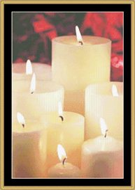 Candle Light - Cross Stitch Download | Crafting | Cross-Stitch | Other