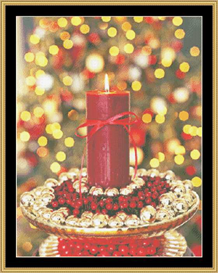 Candle Glow - Cross Stitch Download | Crafting | Cross-Stitch | Other