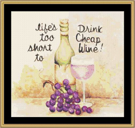 Lifes Too Short - Cross Stitch Download | Crafting | Cross-Stitch | Other