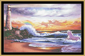 Lighthouse Of Dreams Ii - Cross Stitch Download | Crafting | Cross-Stitch | Other