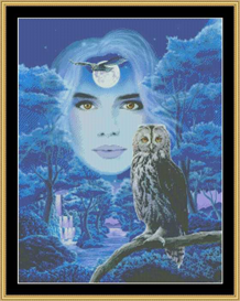 Flight Of The Owls - Cross Stitch Download | Crafting | Cross-Stitch | Other