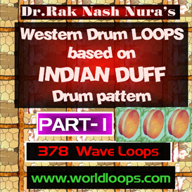 WESTERN DRUMS with DANGEROUS INDIAN DUFF style - PART -1 | Music | Soundbanks