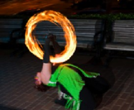 Poi Fire Dancing Lesson: Beginner Transitions, Class 2 | Movies and Videos | Educational