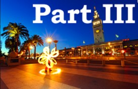 poi fire dancing lesson: beginner transitions, part iii