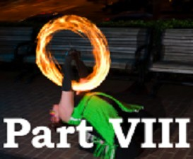 poi fire dancing lesson: beginner transitions, part viii
