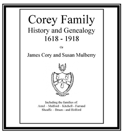 Corey Family History and Genealogy | eBooks | History