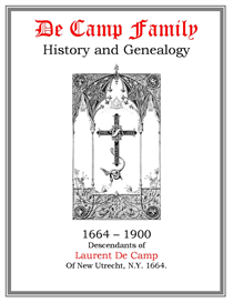 De Camp Family History and Genealogy | eBooks | History