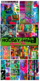 HOLIDAY special edition digital collage kit | Other Files | Arts and Crafts