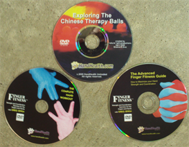 finger fitness series & chinese therapy ball video