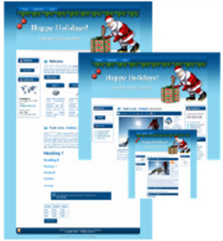 Santa Wp Theme, Blogger & Html Template With Master Resale Right