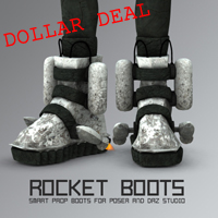 Rocket Boots | Software | Design