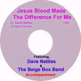 Album 1, Song 7,  Jesus Blood Made The Difference For Me, With Accompaniment | Music | Gospel and Spiritual