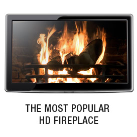 hd fireplace video - for your tv, ipad  or dvd player.
