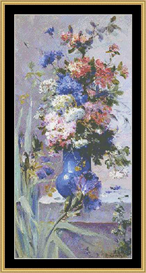Summer Flowers With Japanes Iris - Cross Stitch Pattern Download | Crafting | Cross-Stitch | Other