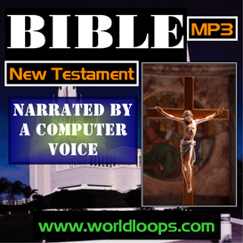 bible mp3 in computer generated voice