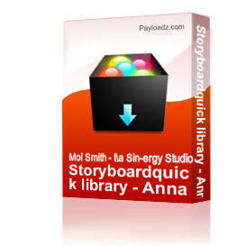 Storyboardquick library - Anna Using Things 1 | Other Files | Photography and Images