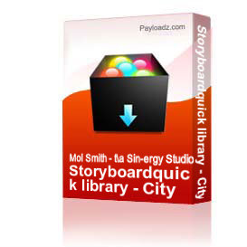 Storyboardquick library - City Streets 1 | Other Files | Photography and Images