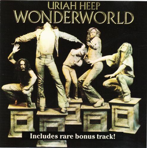 First Additional product image for - URIAH HEEP Wonderworld (1974) (ROADRACER RECORDS) (1 RARE BONUS TRACK) 320 Kbps MP3 ALBUM