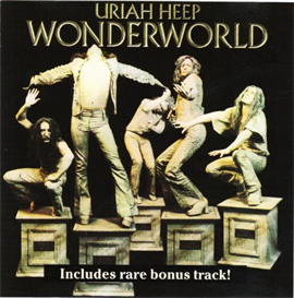 URIAH HEEP Wonderworld (1974) (ROADRACER RECORDS) (1 RARE BONUS TRACK) 320 Kbps MP3 ALBUM | Music | Rock