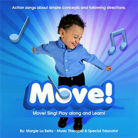 Move! CD by La Bella | Music | Children