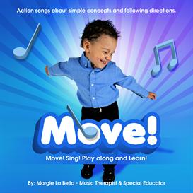 Move! CD by La Bella | Music | Children