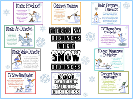 Snow Business Bulletin Board Kit | Other Files | Patterns and Templates