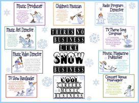 snow business bulletin board kit