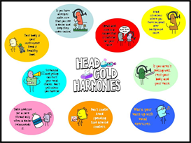 Head Cold Harmonies | Other Files | Patterns and Templates