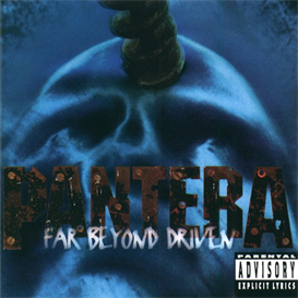 PANTERA Far Beyond Driven (1994) (EASTWEST RECORDS AMERICA) 320 Kbps MP3 ALBUM | Music | Rock