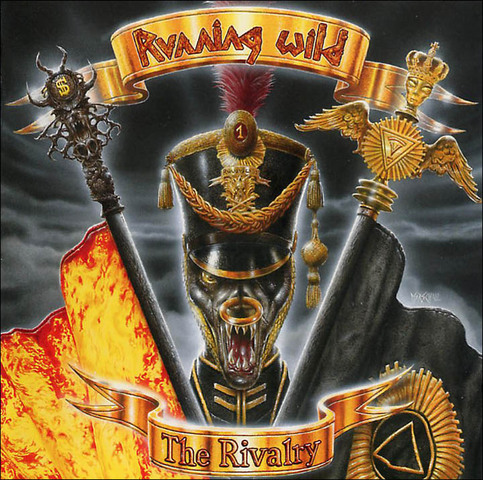 First Additional product image for - RUNNING WILD The Rivalry (1998) (GUN RECORDS) (IMPORT) (E.U.) (13 TRACKS) 320 Kbps MP3
