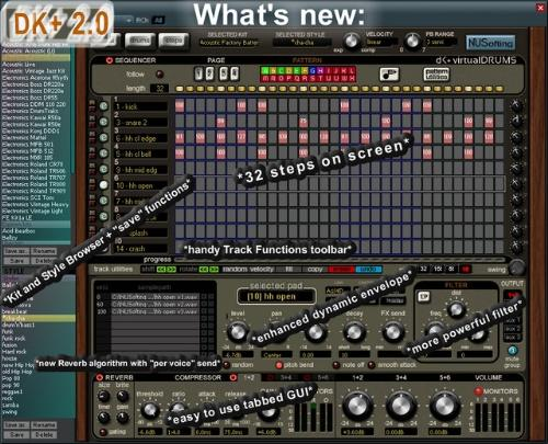 First Additional product image for - DK+ Drum Machine 2.0