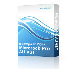 Microrock Pro AU VST | Software | Audio and Video