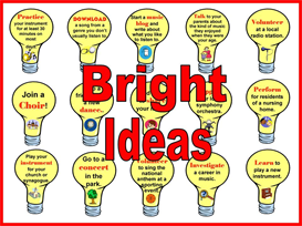 Bright Ideas Bulletin Board Kit | Other Files | Patterns and Templates