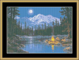 Crackling Silence - Cross Stitch Pattern | Crafting | Cross-Stitch | Other