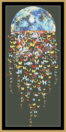 Butterfly Jellyfish - Cross Stitch Patterns Download | Crafting | Cross-Stitch | Other