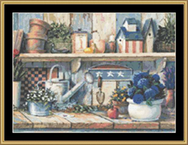 Rhapsody In Blue - Cross Stitch Download | Crafting | Cross-Stitch | Other
