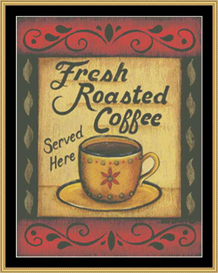 Fresh Roasted Coffee - Cross Stitch Pattern Download | Crafting | Cross-Stitch | Other