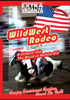 extravaganza  wild west rodeo wyoming usa