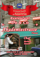 Great Chefs of Austria Chef Herbert Danzer Vienna Restaurant Do & Co Akademiestrasse | Movies and Videos | Action