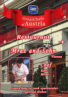 Great Chefs of Austria Chef Karl Mraz Vienna Restaurant Mraz and Sohn | Movies and Videos | Action