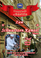 Great Chefs of Austria Chef Alfred Kaiser Vienna Zum Schwartzen Kameel | Movies and Videos | Action