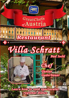 Great Chefs of Austria Chef Gunter Gaderbauer Bad Ischl Restaurant Villa Schratt | Movies and Videos | Action