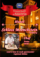 Great Chefs of Austria Chef Franz Girbl Salzburg Hotel Schloss Moenchstein | Movies and Videos | Action