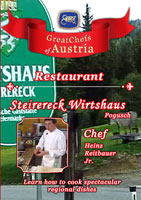 Great Chefs of Austria Chef Heinz Reitbauer Jr Pogusch Restaurant Steirereck Wirtshaus | Movies and Videos | Action