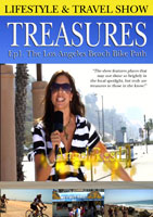 Treasures  Lifestyle & Travel Show Episode 1 The Los Angeles Beach Bike Path | Movies and Videos | Action